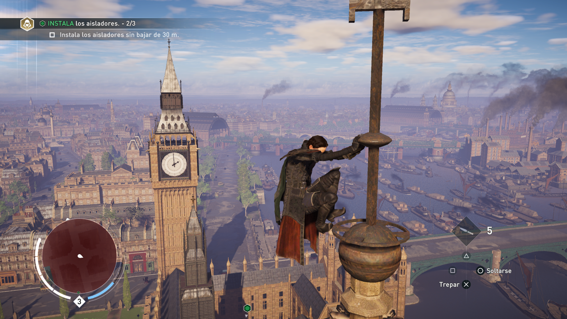 Playing Assassins Creed Syndicate Caetra Studios