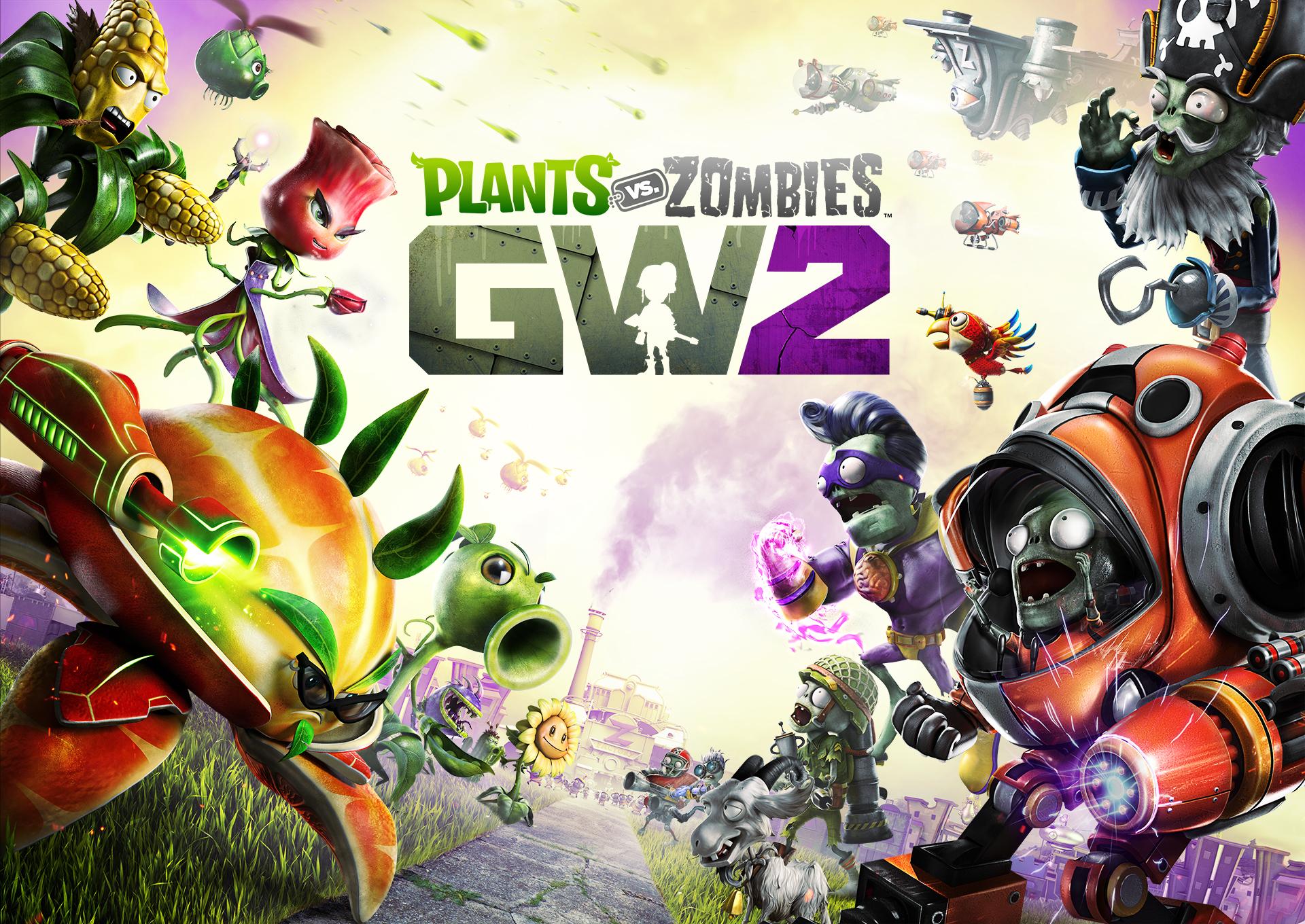Playing Plants Vs Zombies Garden Warfare 2 Caetra Studios
